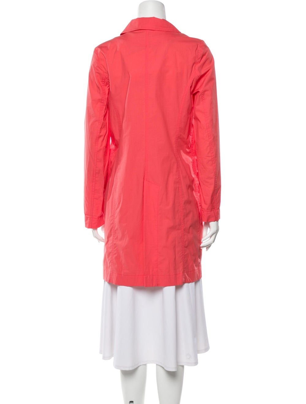 Closed Trench Coat Pink - image 3