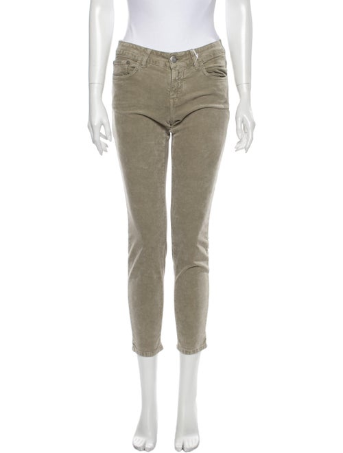 Closed Mid-Rise Straight Leg Jeans Grey