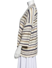 Closed Linen Striped Sweater