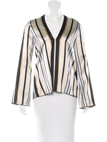 Collection by Giada Forte Striped Long Sleeve Top w/ Tags