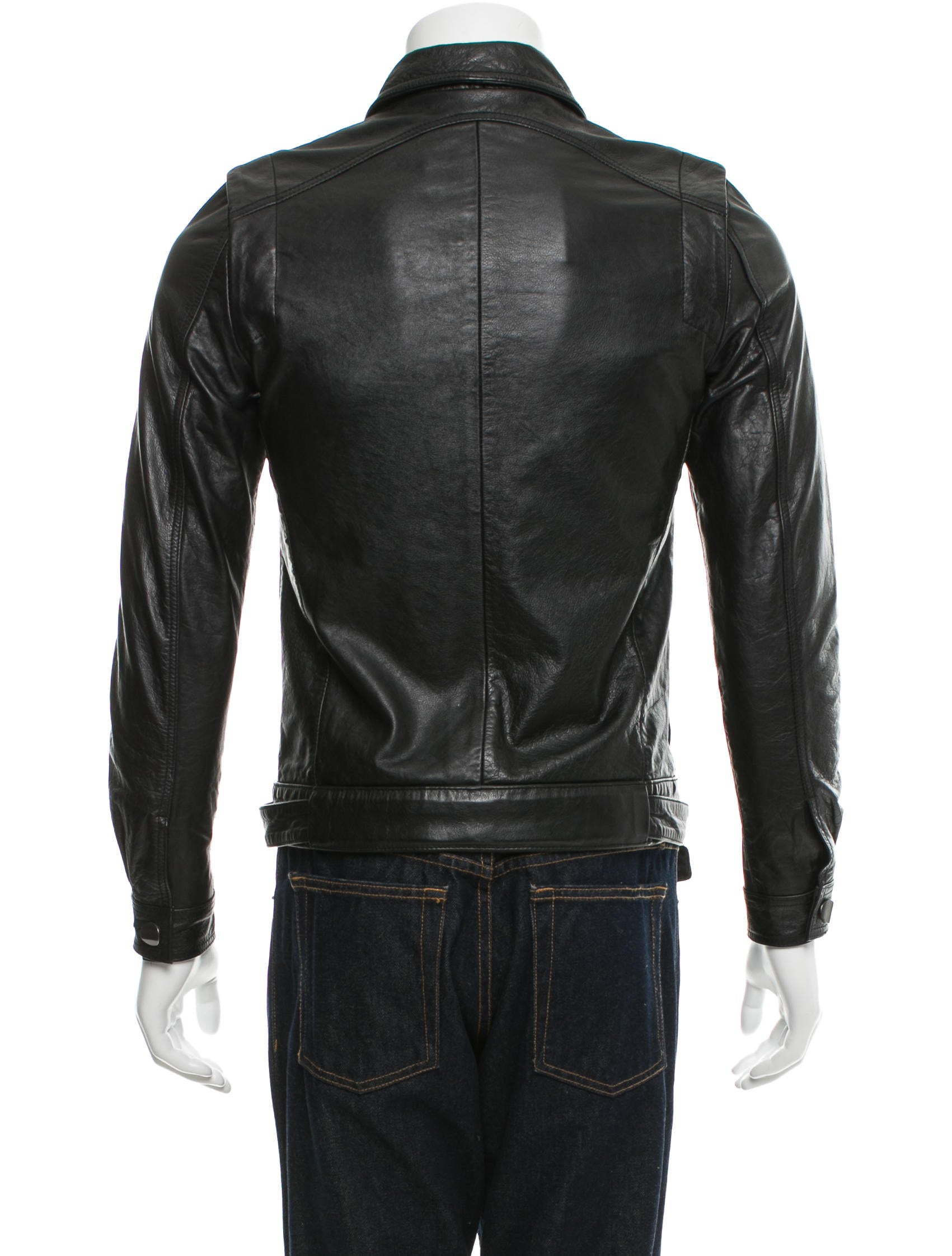 Chapter Belted Leather Jacket - Clothing - WCHAP20004 | The RealReal