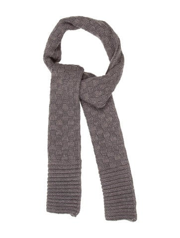 Charabia Kids' Wool-Blend Knit Scarf None