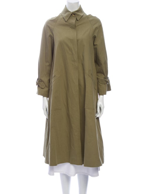 Christy Dawn Trench Coat Green