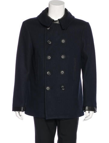 Christophe Lemaire Caban Wool Peacoat w/ Tags None
