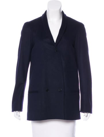 Christophe Lemaire Virgin Wool & Cashmere-Blend Jacket w/ Tags None