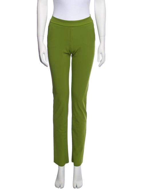 Chiara Boni Straight Leg Pants Green - image 1