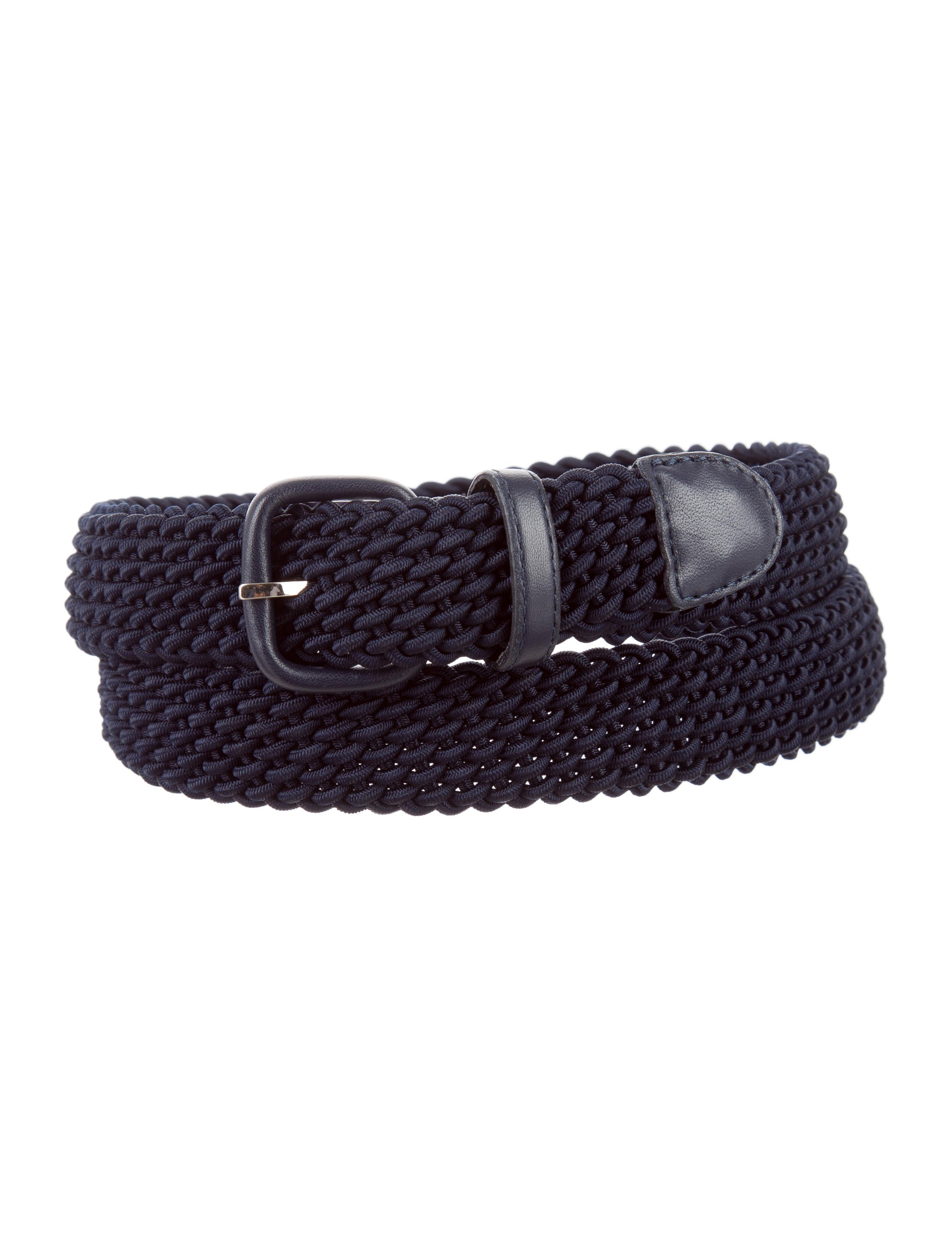 Charvet Woven Leather-Trimmed Belt - Accessories - WCHRV20459 | The ...