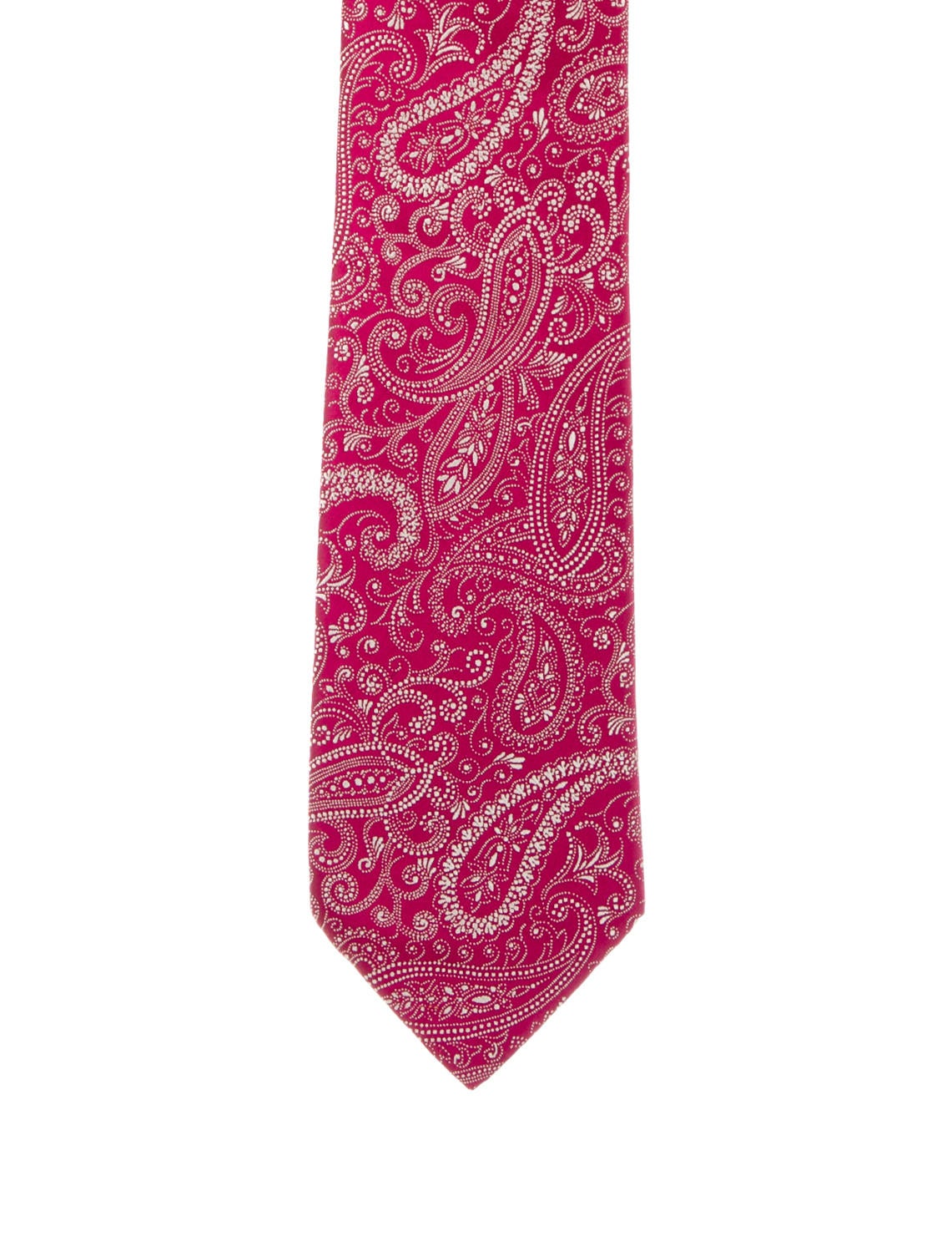 charvet paisley silk tie suiting accessories