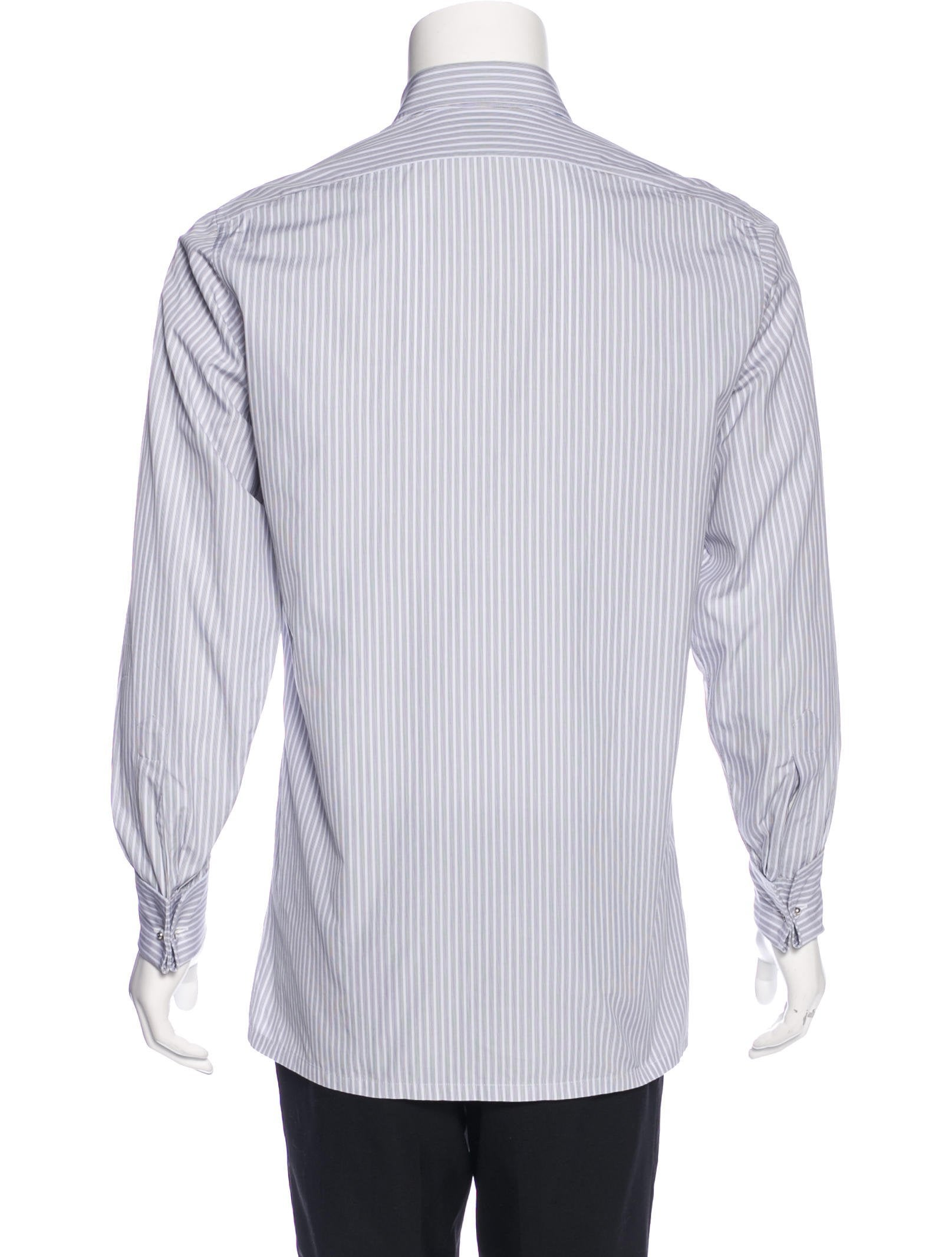 Charvet striped french cuff shirt clothing wchrv20591 for French cuff dress shirts for sale