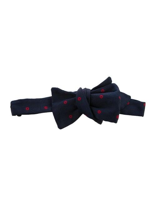 Charvet Silk Bow Tie navy