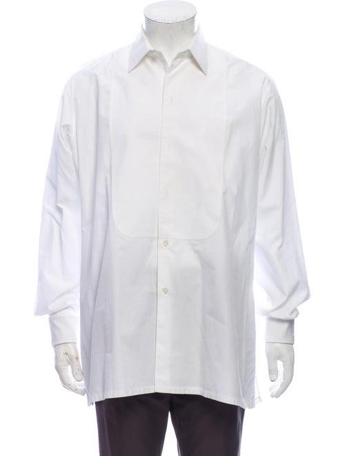 Charvet Long Sleeve Tuxedo Shirt White