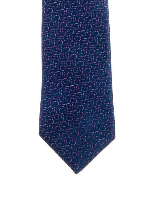 Charvet Silk Tie blue