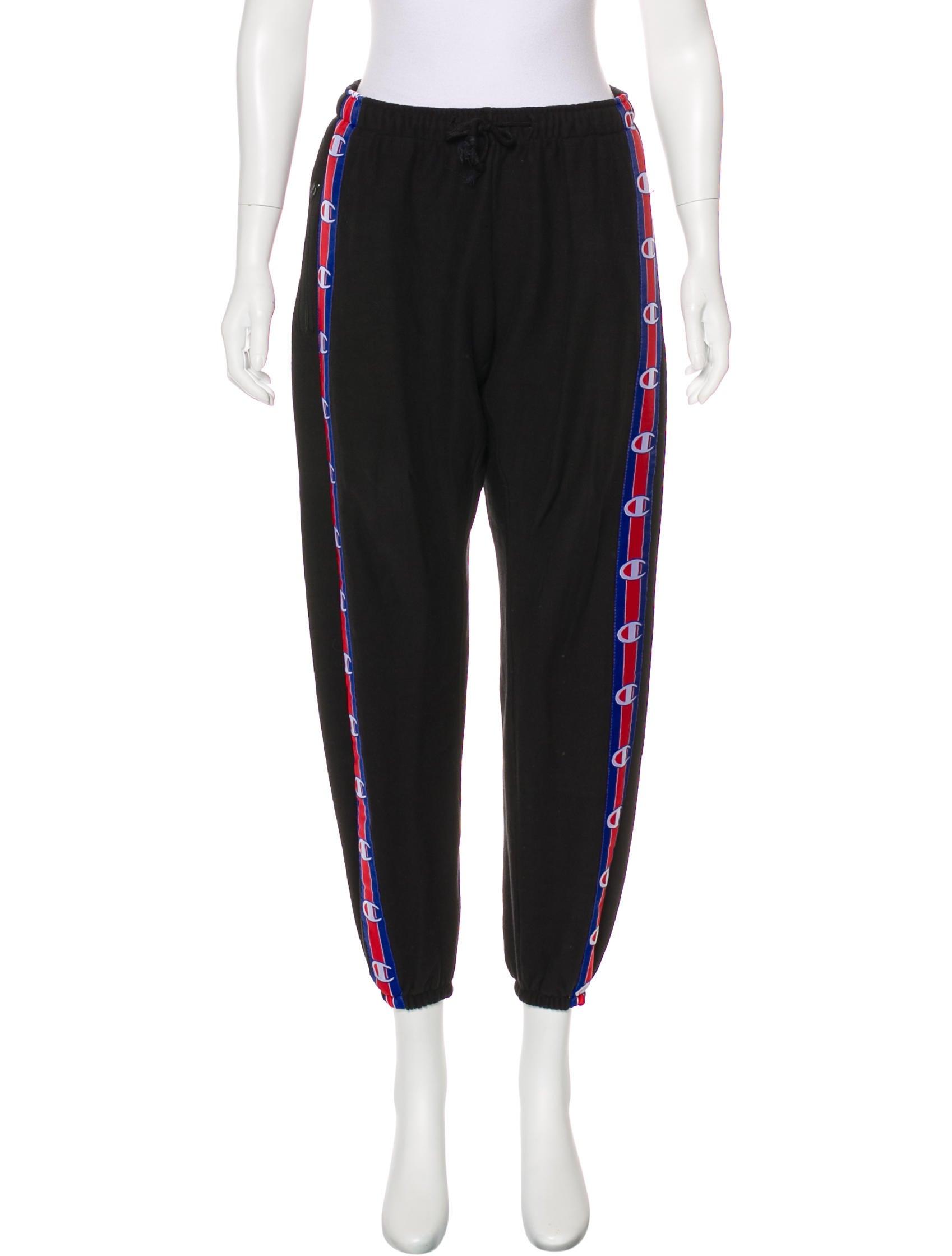 05ecb4a0ad5c4e Vetements x Champion 2017 Taped Sweatpants - Clothing - WCHVE20017 ...