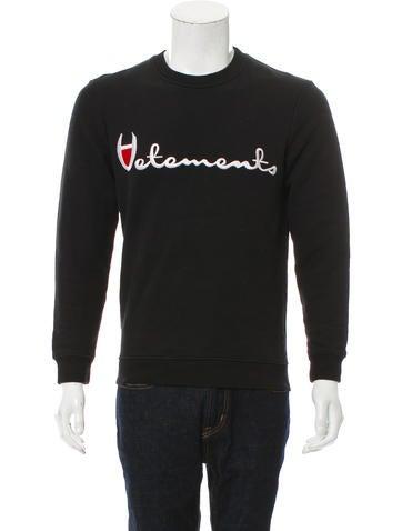 Vetements x Champion Crewneck Champion Sweatshirt None