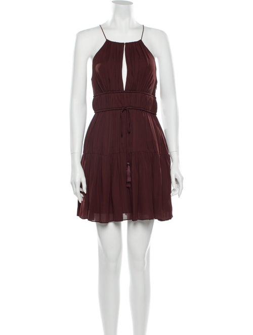 Cinq à Sept Silk Mini Dress