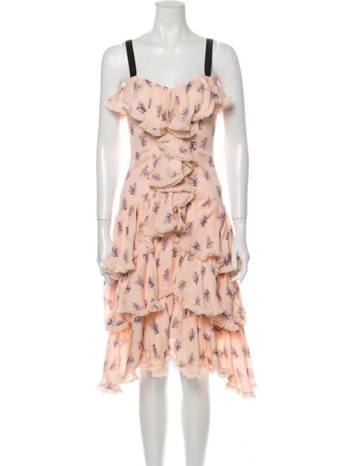 Cinq à Sept Silk Knee-Length Dress