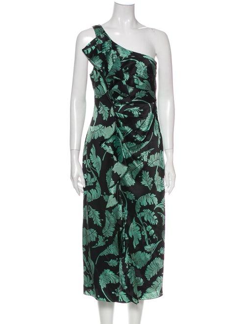 Cinq à Sept Silk Long Dress w/ Tags Black