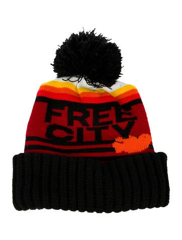 Free City Pom Pom Knit Beanie None
