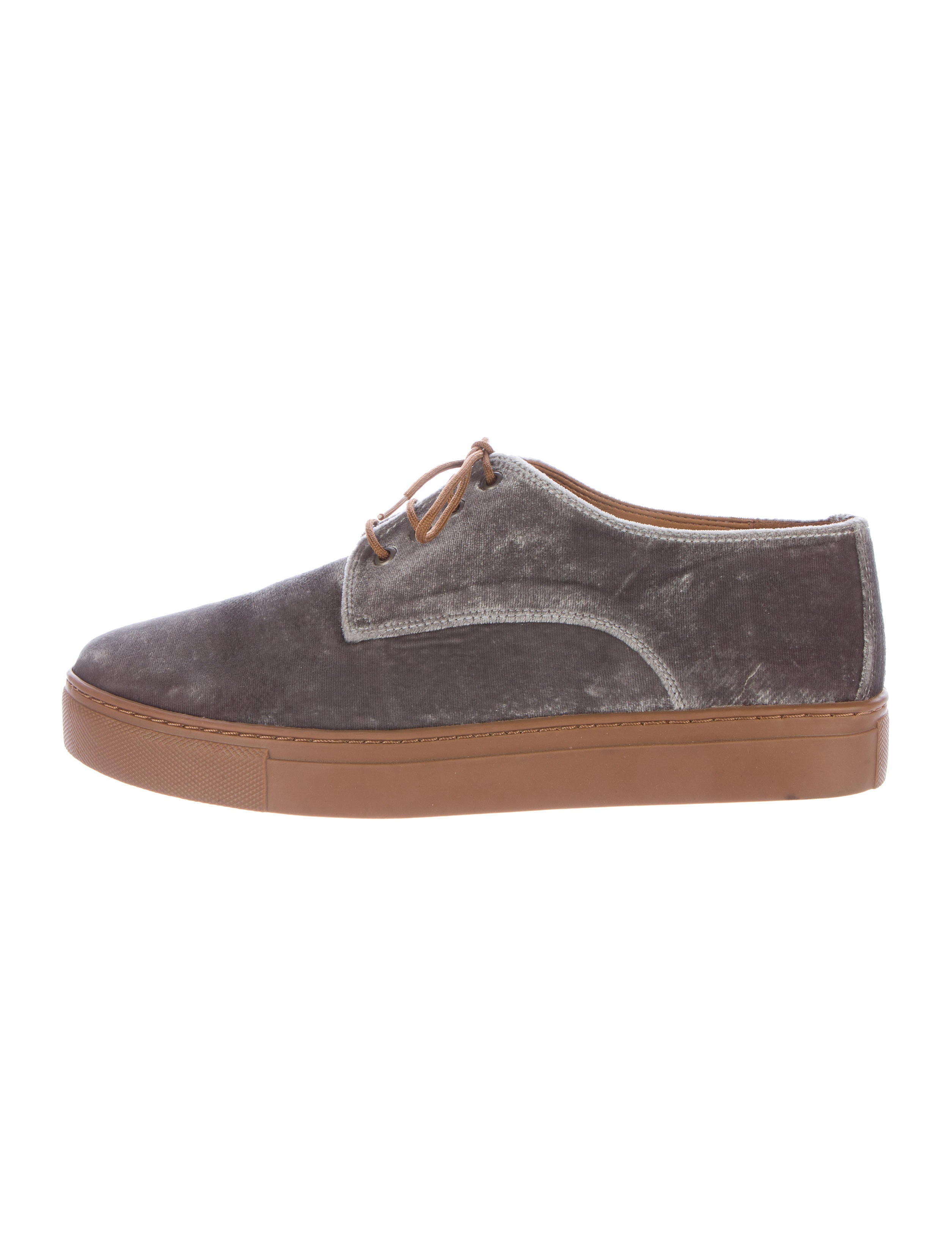 sale lowest price Clover Canyon Velvet Low-Top Sneakers clearance latest collections 1PyU53c