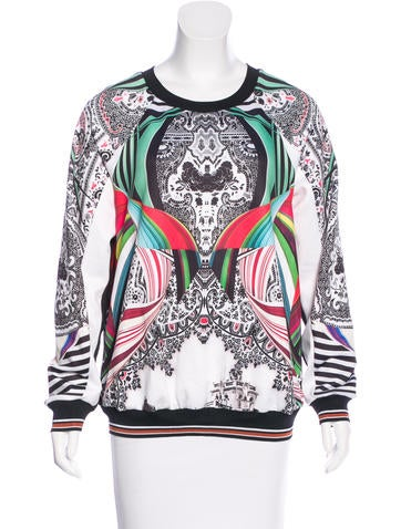 Clover Canyon Printed Pullover Sweatshirt None