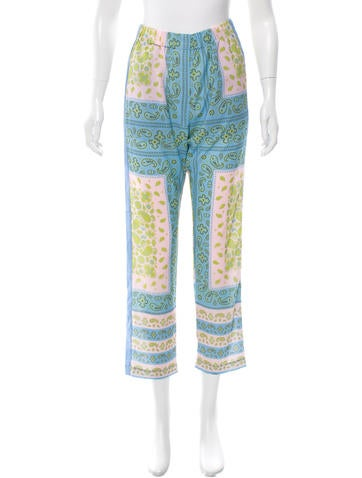 Clover Canyon Printed Georgette Pants w/ Tags