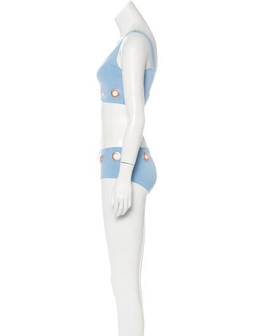 Grommet Two-Piece Swimsuit w/ Tags