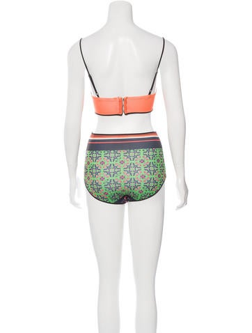 High-Waist Two-Piece Swimsuit w/ Tags