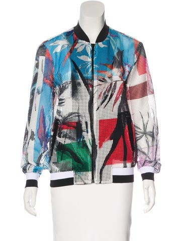 Clover Canyon Printed Bomber Jacket None