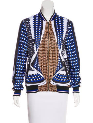 Clover Canyon Printed Long Sleeve Jacket None