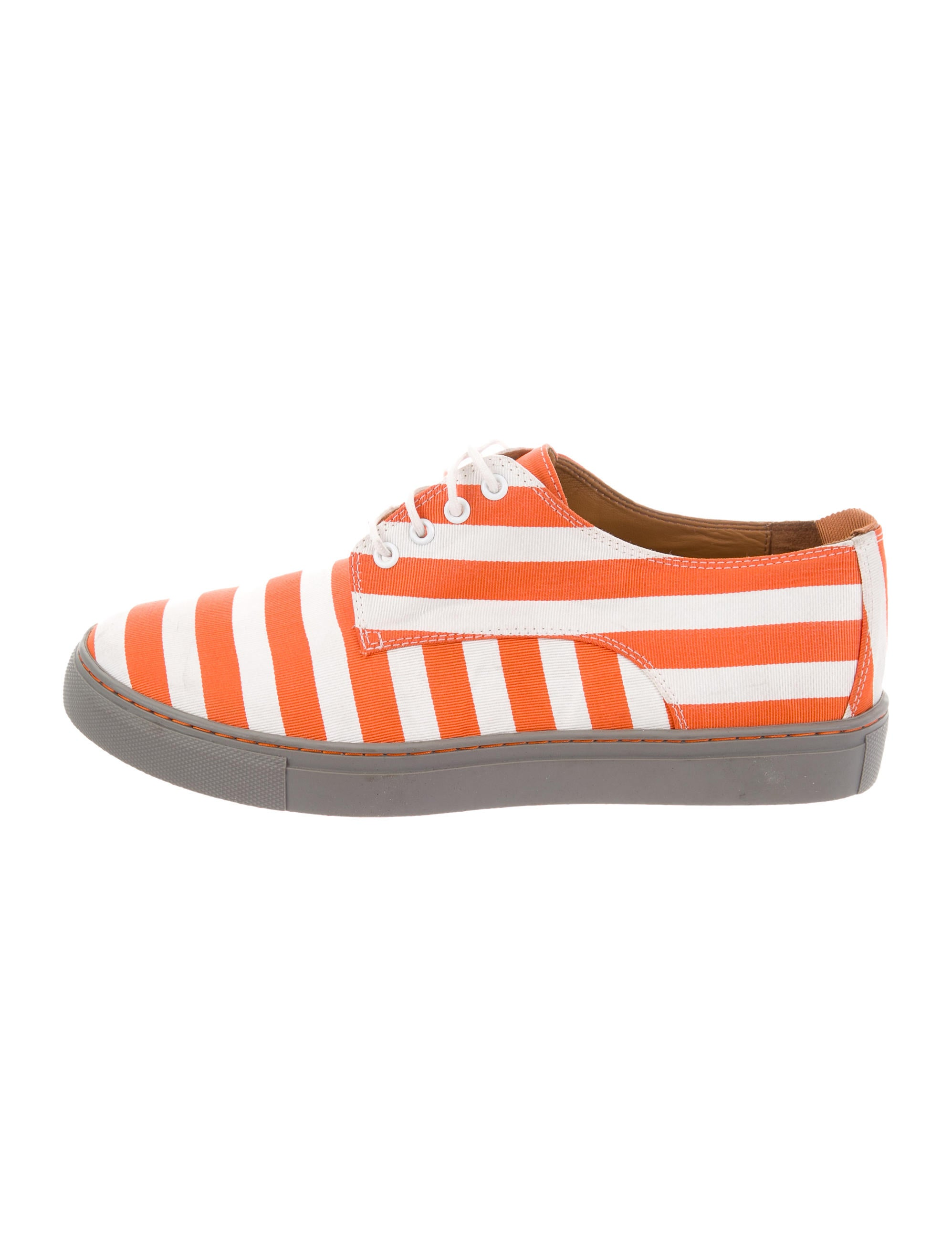 Clover Canyon Striped Low-Top Sneakers geniue stockist cheap price GOxvMMCC