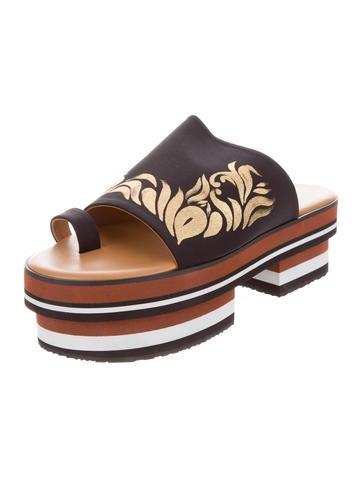 Flatform Slide Sandals w/ Tags