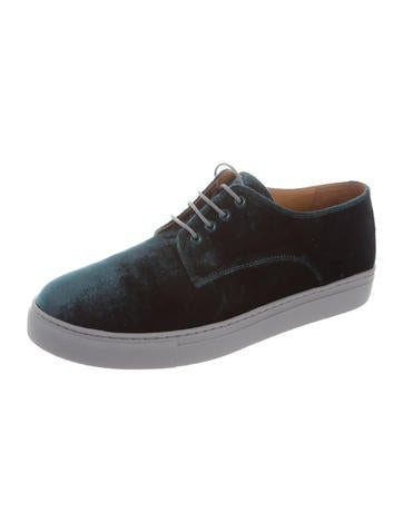 Clover Canyon Velvet Low-Top Sneakers sale professional discounts sale online clearance big sale largest supplier cheap online HH9hKz5Wd