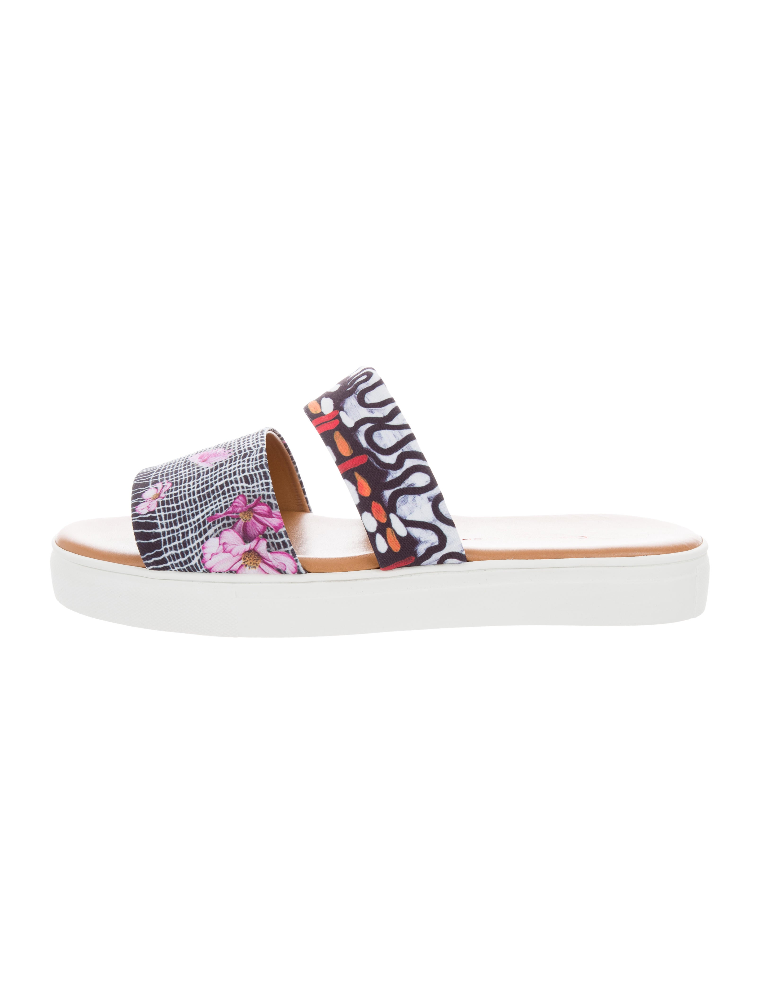 Clover Canyon Printed Ankle Strap Sandals w/ Tags choice professional online wide range of cheap online good selling XMKsx7QXu