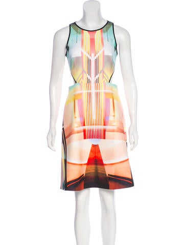 Clover Canyon Printed Knee-Length Dress None