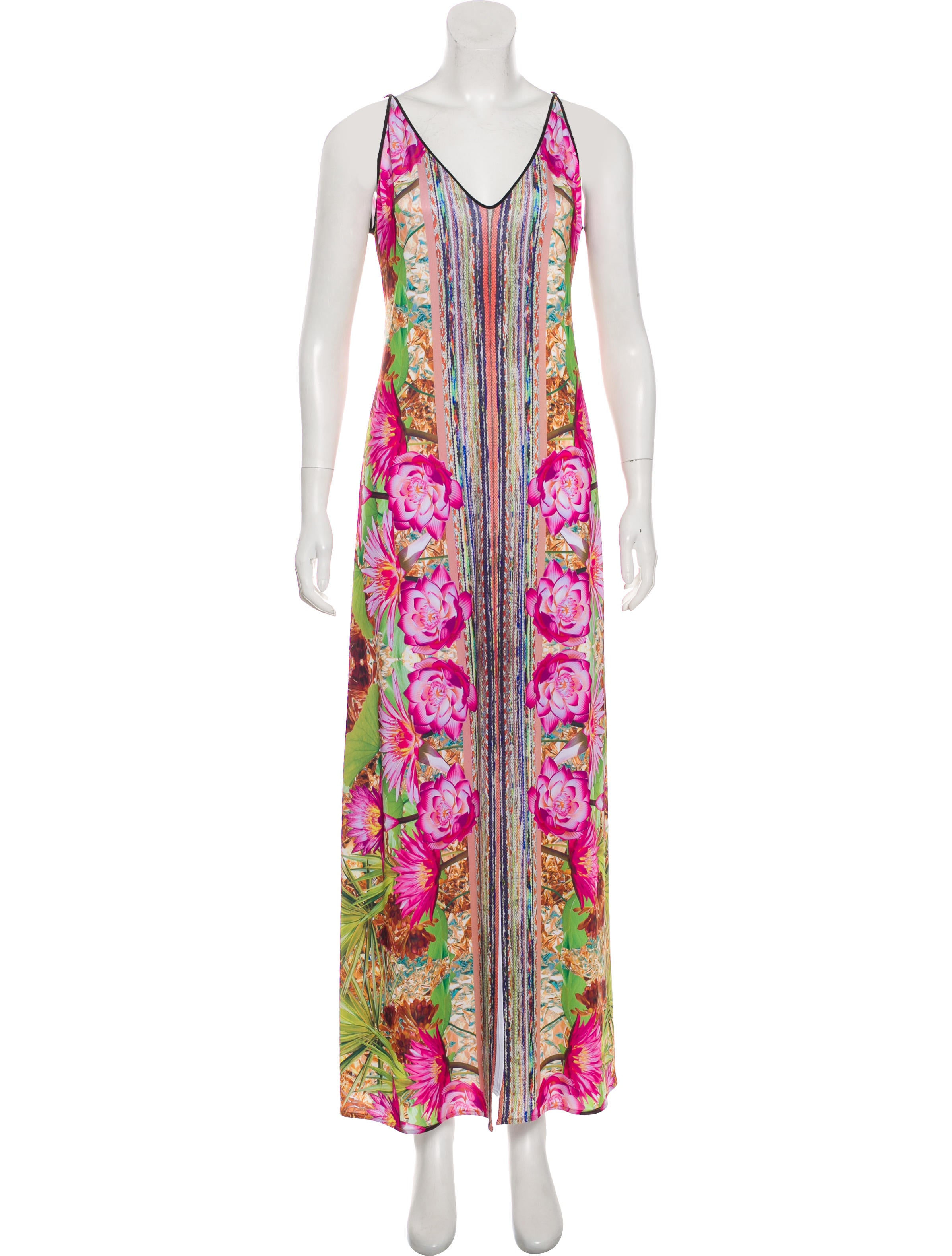 Clover Canyon Printed Maxi Dress - Clothing -           WCL28724 | The RealReal