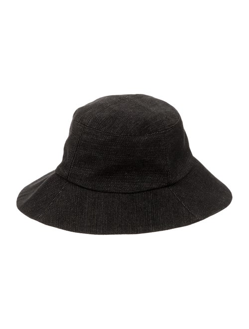 Clyde Denim Bucket Hat Black