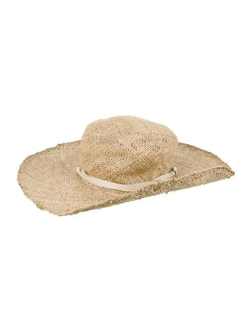 Clyde Straw Sun Hat Khaki