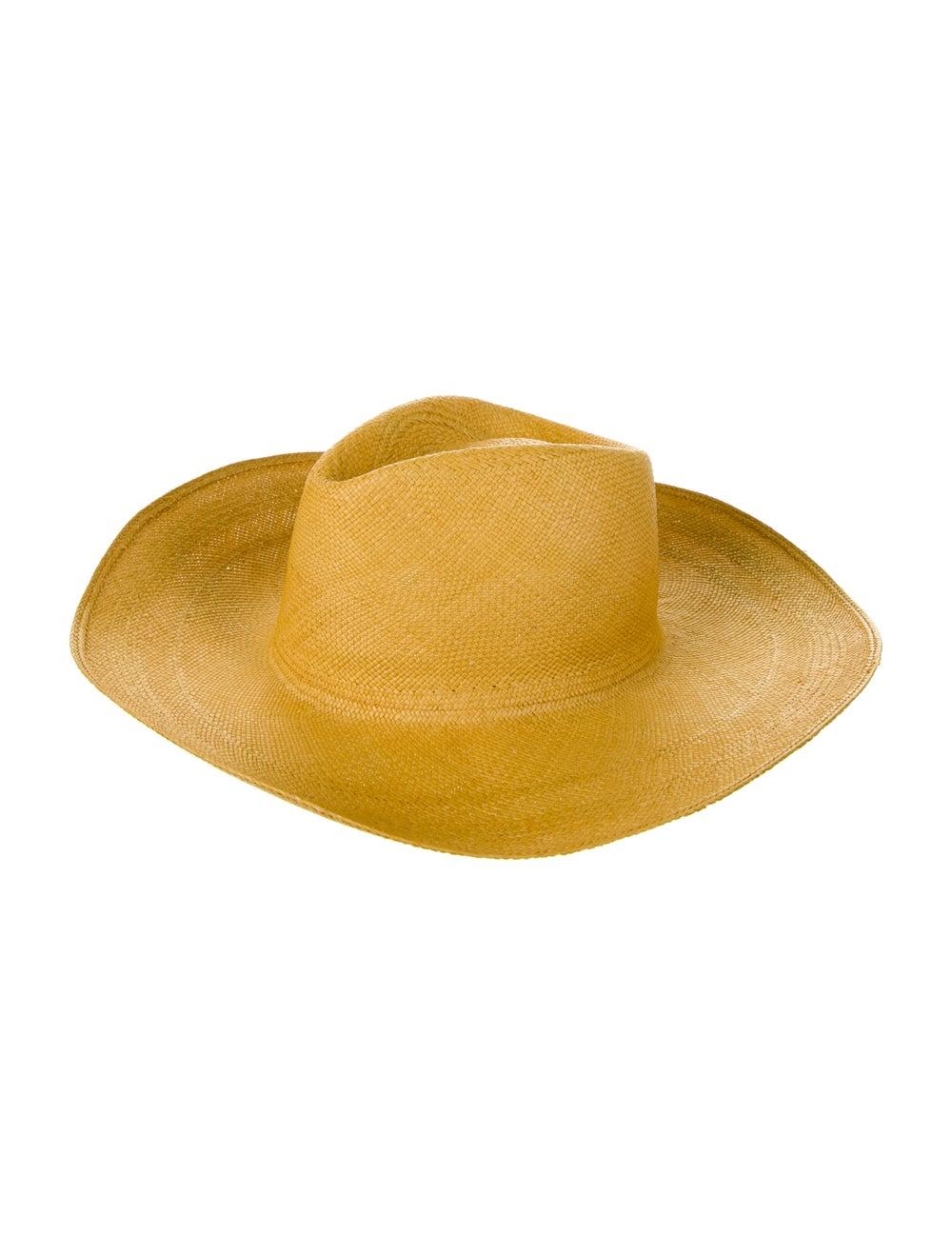 Clyde Wide Brim Straw Hat - image 1
