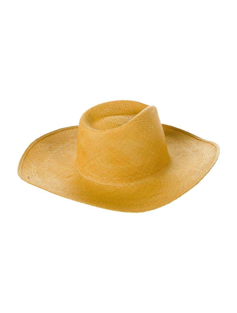Clyde Wide Brim Straw Hat - image 2