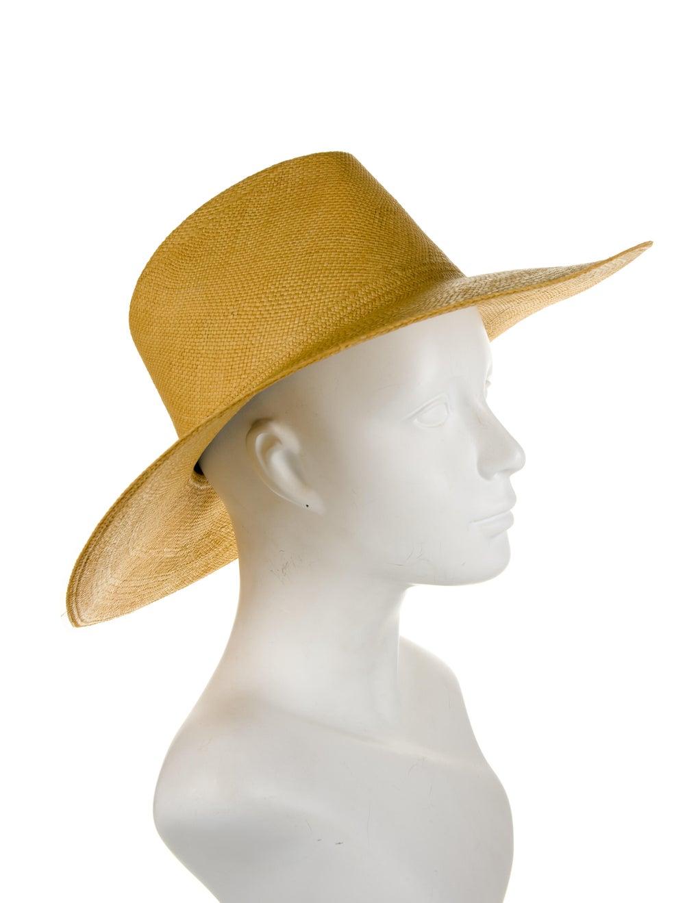 Clyde Wide Brim Straw Hat - image 3