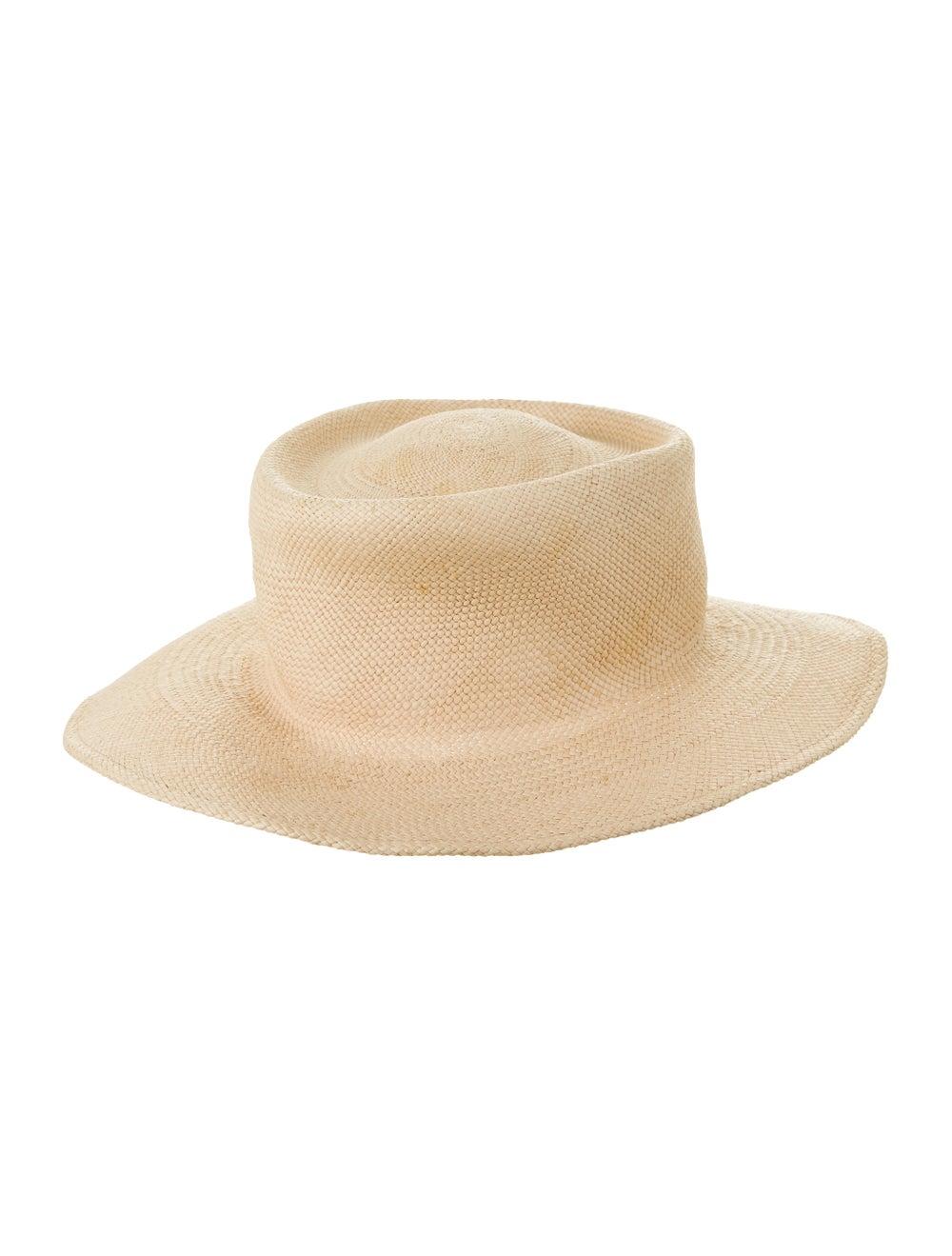 Clyde Straw Wide Brim Hat - image 1