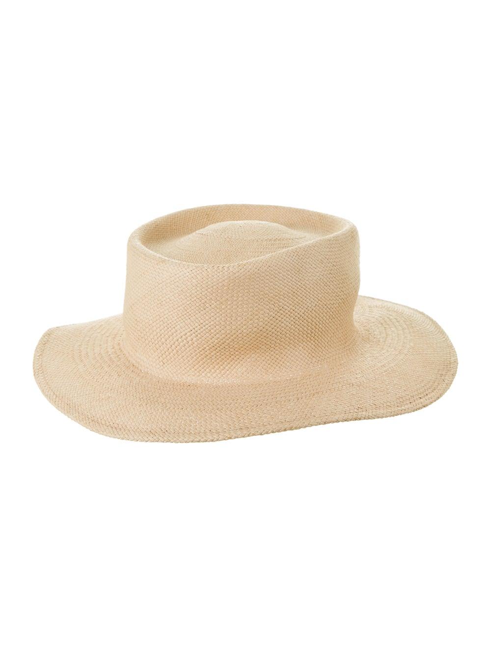 Clyde Straw Wide Brim Hat - image 2
