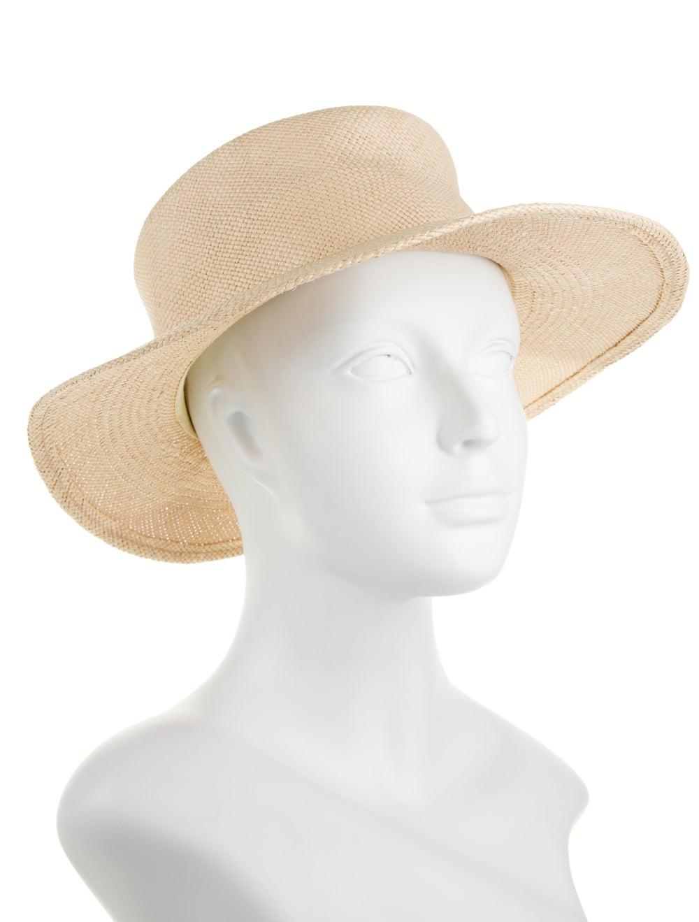Clyde Straw Wide Brim Hat - image 3