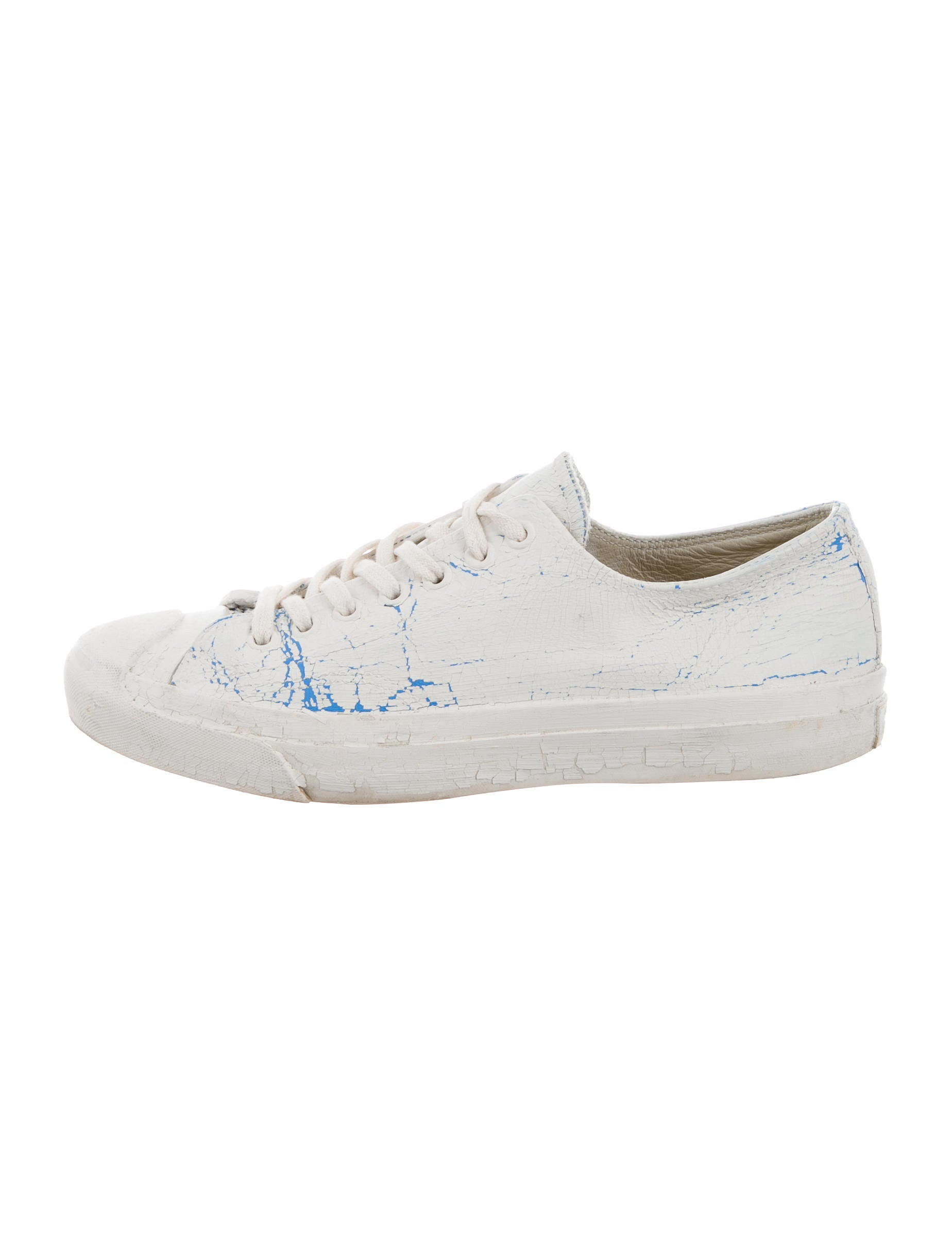 distressed low-top sneakers - White Maison Martin Margiela sMiNWRm