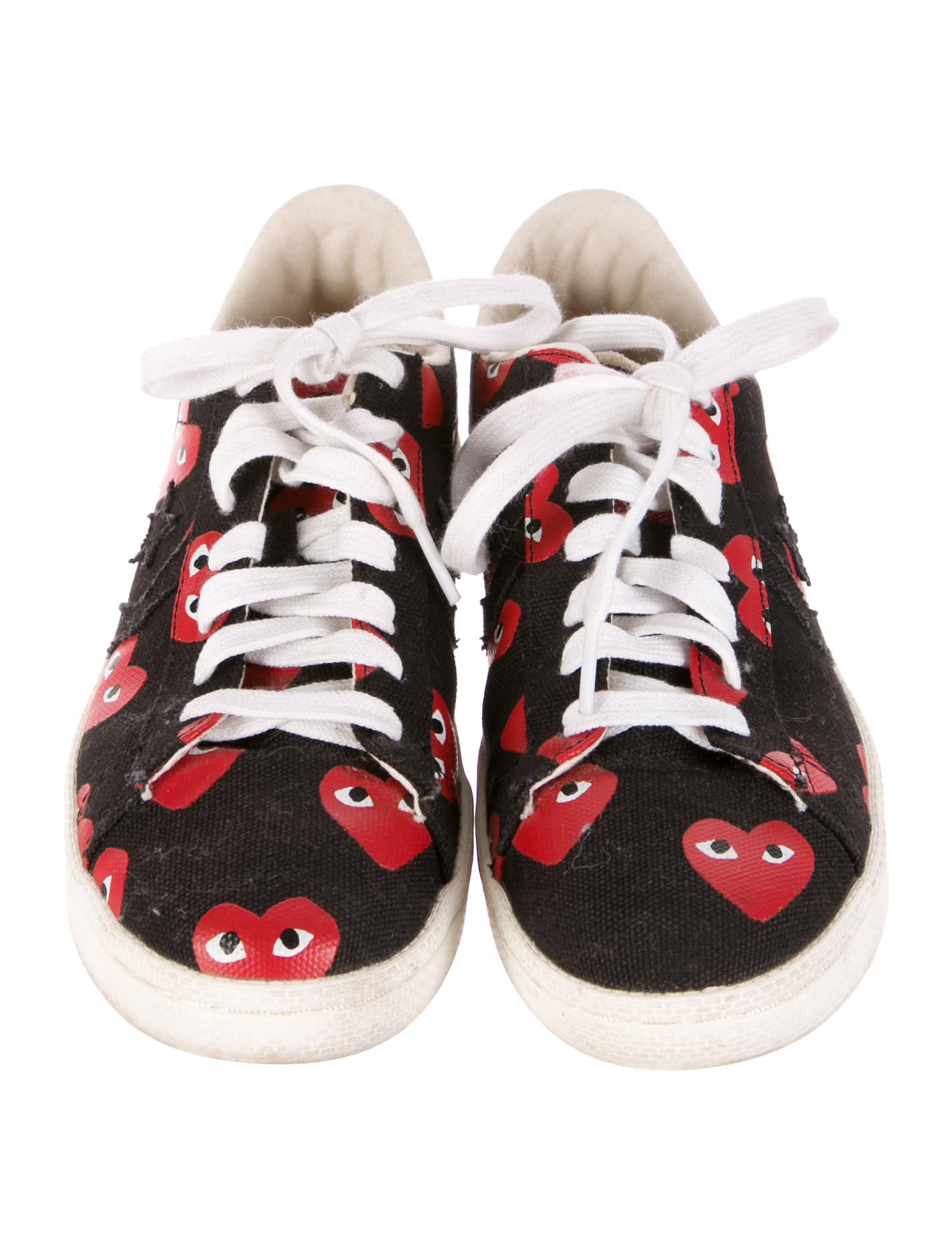 comme des gar ons play x converse sneakers shoes. Black Bedroom Furniture Sets. Home Design Ideas