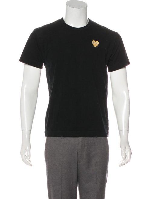 1ed8114fe5c Comme des Garçons Play Heart Appliqué T-Shirt - Clothing - WCO22521 ...