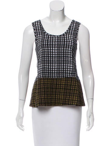 Jonathan Cohen Sleeveless Wool Top w/ Tags None