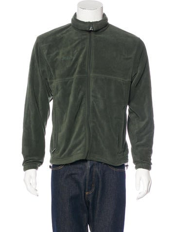 Columbia Fleece Zip-Up Sweater None