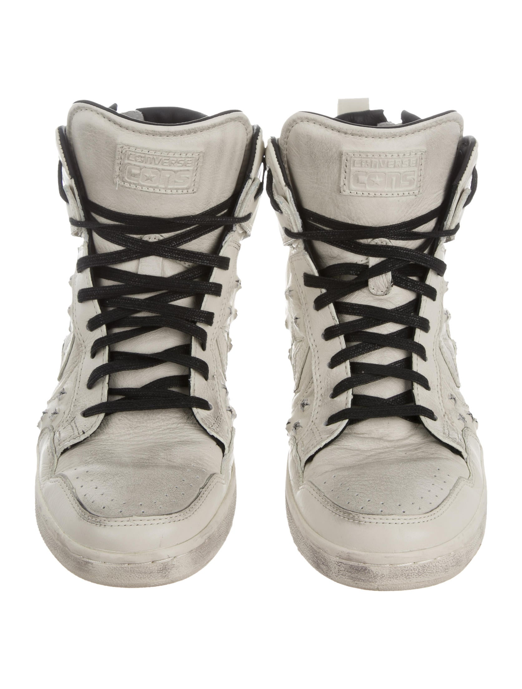 designer converse john varvatos 6w21  Weapon High-Top Sneakers w/ Tags