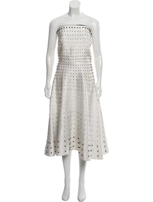 Esme Vie Sleeveless Midi Dress White